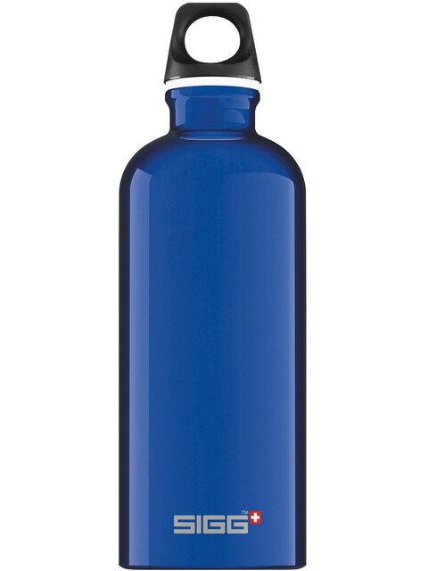 Sigg Traveller Alutrinkflasche 0,6l blau